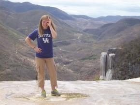 Alison in Oaxaca,Mexico