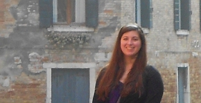 Caitlin: Florence and Rome,Italy