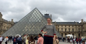 Hannah Studying Theater, Culture, and Art inParis