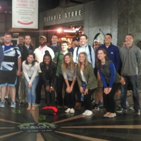 UK Students excursion to Belfast