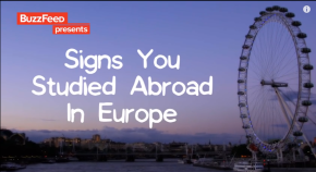 Video: 23 Signs You Studied Abroad inEurope